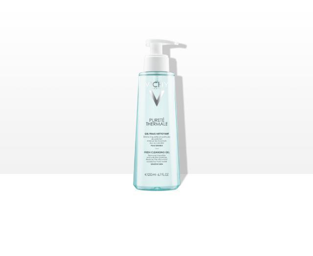Svježi gel za čišćenje osjetljive kože lica