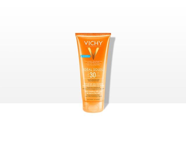 vichy-ideal-soleil-gel-mlijeko-spf-30-za-mokru-i-suhu-kozu-mlijeko-za-suncanje-visoka-zastita-krema-za-suncanje-za-sportase